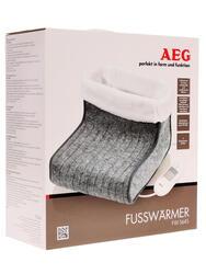 Электрогрелка для ног AEG FW 5645 белый, серый