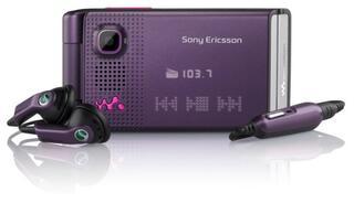 Сотовый телефон Sony Ericsson W380i Purple GSM/TFT/176x220/1,3Мп/14Mb/MS Micro(M2)/GPRS/EDGE/BT/FM - Уценка СЦ