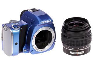 Зеркальная камера Pentax K-S1 kit DA L 18-55mm голубой