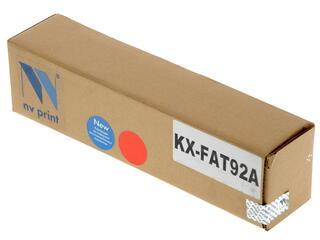 Картридж лазерный NV Print KX-FAT92A