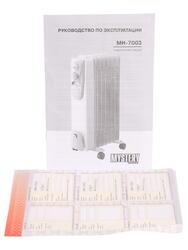 Масляный радиатор Mystery MH-7003 белый