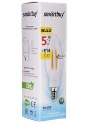 Лампа светодиодная Smartbuy SBL-C37F-05-30K-E14