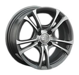 Автомобильный диск литой LS W304 6,5x15 4/100 ET 43 DIA 60,1 GMF