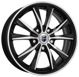 Автомобильный диск Литой K&K Спайдер 6,5x16 5/114,3 ET 50 DIA 67,1 Алмаз черный