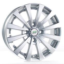 Автомобильный диск литой Nitro Y247 6x14 4/108 ET 38 DIA 73,1 Sil