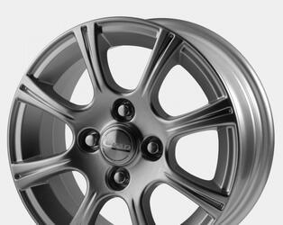 Автомобильный диск Литой Скад Комета 5,5x13 4/98 ET 38 DIA 58,6 Платина