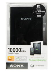 Портативный аккумулятор SONY CP-V10 черный
