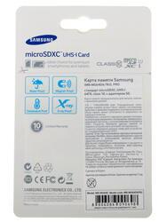 Карта памяти Samsung MB-MG64DA microSDXC 64 Гб