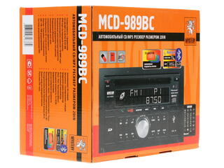 Автопроигрыватель MYSTERY MCD-989BC