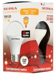 Лампа светодиодная Supra SL-LED-PR-A60-10W/3000/E27