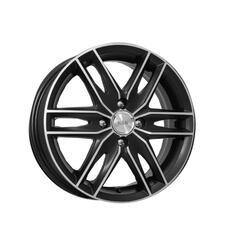 Автомобильный диск Литой K&K Монтеррей 6x16 5/112 ET 50 DIA 57,1 Алмаз черный