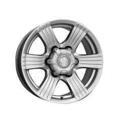 Автомобильный диск  K&K Невада 8x16 6/139,7 ET 0 DIA 110,1 Блэк платинум