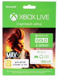 Карта оплаты подписки Xbox LIVE 3 мес