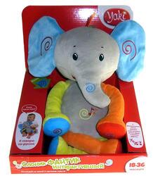Интерактивная игрушка Yaki Слон Фантик мягконабивной