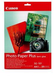 Бумага CANON [SG-101] Photo Paper Plus Semi-gloss 260 г/м A4 20 л.