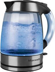 Электрочайник Maxwell MW-1033-01-BK черный, серебристый