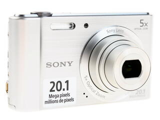 Компактная камера Sony Cyber-shot W800S серебристый