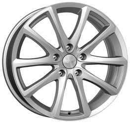 Автомобильный диск  K&K Сансара 8,5x18 5/108 ET 45 DIA 67,1 Блэк платинум