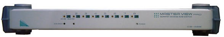 [ATEN CS-428] Переключатель, электрон., KVM+Audio,  4 user PS2+VGA =\>  8 cpu PS2/PC+VGA, без шнуров, 1920x1440, настол., исп.спец.шнуры, OSD, каскад 64