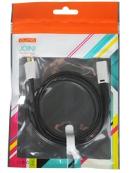 Кабель Qumo USB - micro USB черный