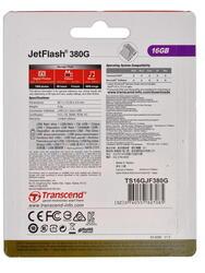 Память OTG USB Flash Transcend JETFLASH 380g  16 Гб