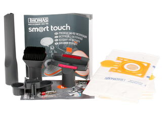Пылесос Thomas smart touch power черный