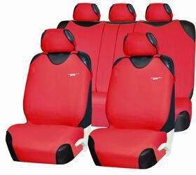 Чехлы на сиденье PSV Pacific Plus Zips красный