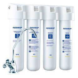 Проточный фильтр для воды Аквафор Кристалл-Квадро H