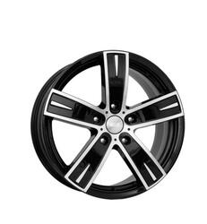 Автомобильный диск  K&K Онегин 8x18 5/130 ET 43 DIA 84,1 Алмаз черный