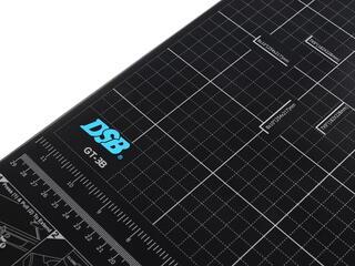 Резак сабельный  DSB GT 3B серый, черный