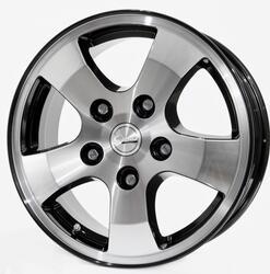 Автомобильный диск Литой Скад Арго 6,5x16 5/139,7 ET 43 DIA 98,5 Алмаз
