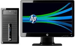ПК HP ProDesk 400 MT i3 4150/4Gb/500Gb 7.2k/DVDRW/Win 8.1 Prof downgrade to Win 7 Prof 64/клавиатура/мышь/W2072a LED DVI