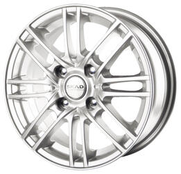Автомобильный диск Литой Скад Электра 5,5x14 4/100 ET 38 DIA 67,1 белый