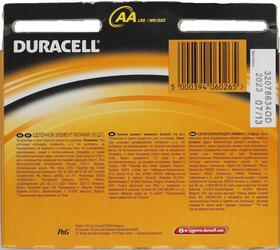 Батарейка Duracell Basic LR03-18BL