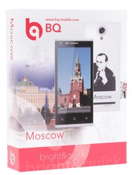 """4.5"""" Смартфон BQ BQS-4515 Moscow 4 Гб белый"""