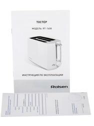 Тостер Rolsen RT-1608 белый