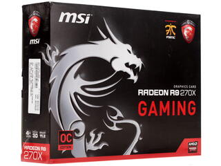 Видеокарта MSI AMD Radeon R9 270X Gaming 4G [R9 270X GAMING 4G]