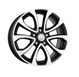 Автомобильный диск литой K&K КС623 7x17 5/114,3 ET 47 DIA 66,1 Алмаз черный