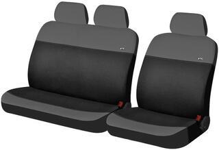 Чехол на сиденье H&R RONDO-VAN эластик, т.серый/черный