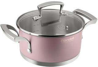 Кастрюля Rondell Rosso RDS-372 розовый