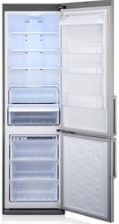 Холодильник с морозильником Samsung RL50RSCMG серый