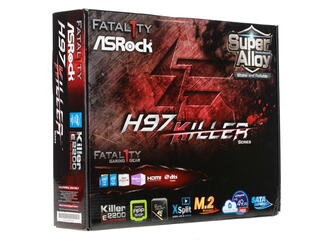 Материнская плата ASRock Fatal1ty H97 Killer