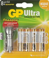 """Комплект """"8xАА+фонарик"""" GP"""