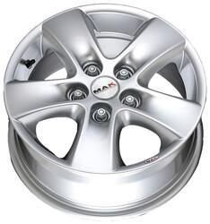 Автомобильный диск литой MAK HD2 6,5x15 5/160 ET 58 DIA 65,1 Hyper Silver
