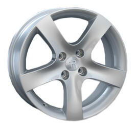 Автомобильный диск литой Replay PG17 7,5x17 4/108 ET 47 DIA 57,1 Sil