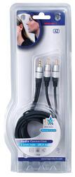 Кабель соединительный HQ Cable RCA x2 - 3.5 mm jack