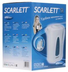 Электрочайник Scarlett SC-EK14Е01 белый