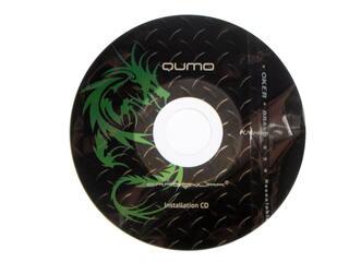 Мышь проводная Qumo Dragon War DRAGUNOV + коврик