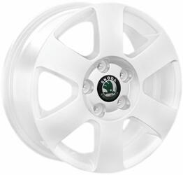 Автомобильный диск литой Replay SK7 6x15 5/114,3 ET 50 DIA 63,3 White