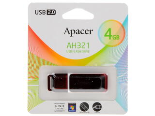 Память USB Flash Apacer Handy Steno AH321 4 Гб